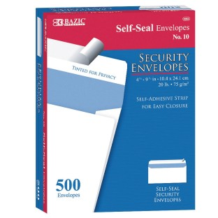 Self Seal Security Envelopes (Box of 500) - Image 1 of 1