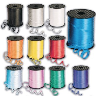 Curling Ribbon Spools for Balloons & More, 500 Yards, Silver - Image 1 of 1