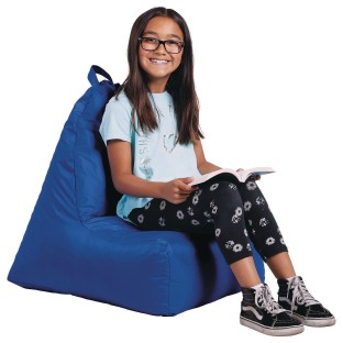Cali Alpine Beanbag Chair, Raspberry - Image 1 of 1