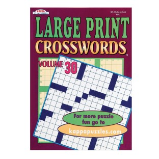 Large Print Word-Finds and Crosswords Book (Pack of 12) - Image 1 of 4