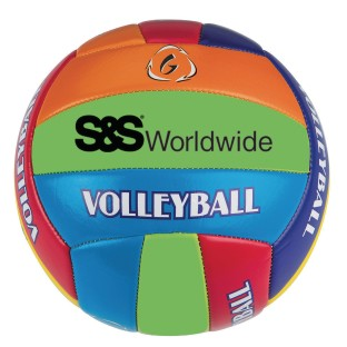 S&S® Multicolored Volleyball - Image 1 of 1