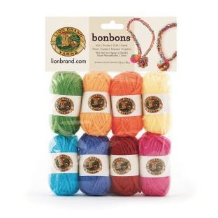 Bonbons® Mini Acrylic Yarn Pack - Crayon Themed (Pack of 8) - Image 1 of 1