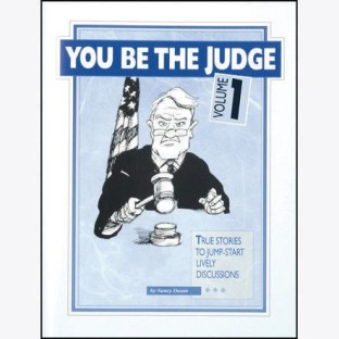 You Be the Judge Book, Volume 1 - Image 1 of 1