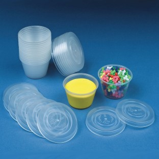 Craft Cups With Lids - Image 1 of 1