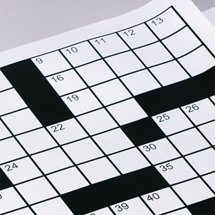 Extra Crossword Grid Sheets (Pack of 60) - Image 1 of 1