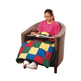 Twin Pieced Top Weighted Blanket - Image 1 of 2