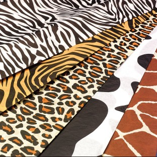 Animal Print Tissue Paper (Pack of 60) - Image 1 of 1