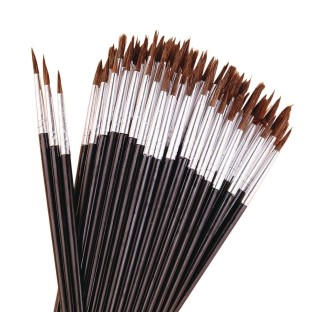 Pointed Round Brushes (Pack of 144) - Image 1 of 1