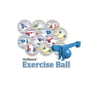 Exercise Ball HotSpots™ Set (Pack of 12) - Image 1 of 2