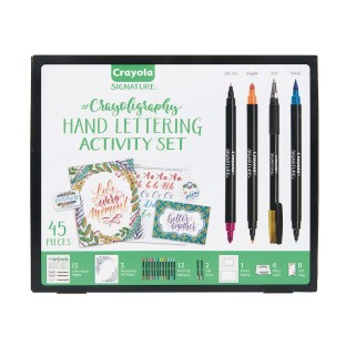 Crayola® Crayoligraphy Hand Lettering Activity Set - Image 1 of 4