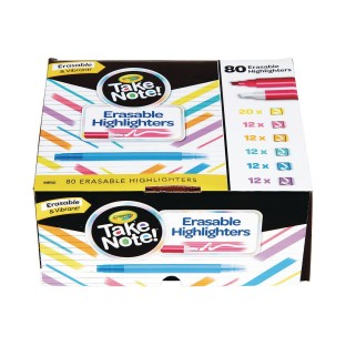 Crayola® Take Note™ Erasable Highlighter (Pack of 80) - Image 1 of 2