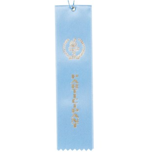 Award Ribbon Participant-Light Blue (Pack of 50) - Image 1 of 1