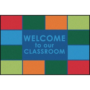 Carpets for Kids® Welcome to our Classroom Value Rug - Image 1 of 1