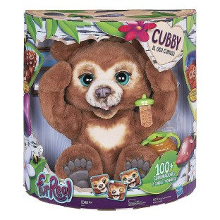 FurReal® Cubby The Curious Bear Plush Toy - Image 1 of 3