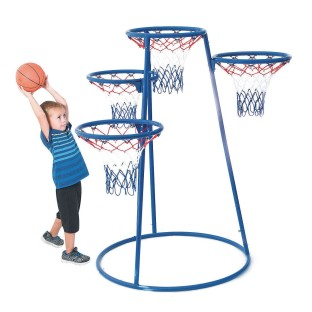 4-Ring Basketball Goal - Image 1 of 2