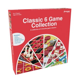Pressman® 6-in-1 Classic Game Collection - Image 1 of 1