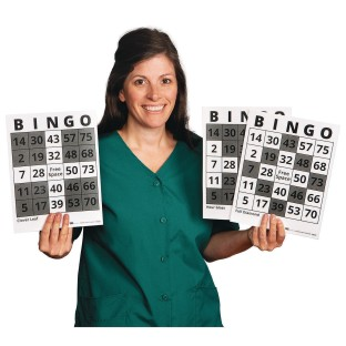 S&S® Bingo Game Example Cards (Pack of 25) - Image 1 of 4