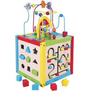 5-in-1 Activity Toy Cube - Image 1 of 1