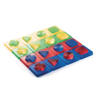 Guidecraft® Discovery Shapes, Multicolor Acrylic Mix and Match Shapes - Image 1 of 5
