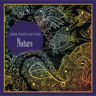 Super Scratch Art Pad - Nature - Image 1 of 2