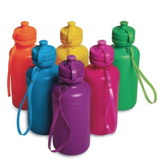 Colorful Water Bottle Pack (Pack of 12) - Image 1 of 3