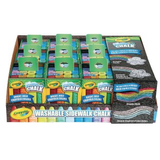 Crayola® Washable Sidewalk Chalk Multi-Pack - Image 1 of 1