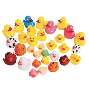 Carnival Rubber Duck Assortment (Pack of 32) - Image 1 of 1