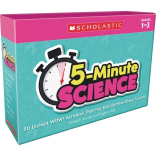 5 Minute Science Cards, Grades 1-3 - Image 1 of 5