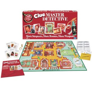 Hasbro® Clue® Master Detective Board Game - Image 1 of 2