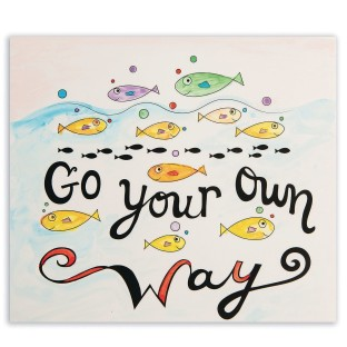 Paint Palette Craft Kit: Go Your Own Way (Pack of 24) - Image 1 of 2
