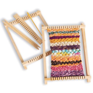 Wood Weaving Frame & Accessories - Image 1 of 3