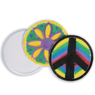 Color-Me™ Iron-On Round Patches (Pack of 48) - Image 1 of 1