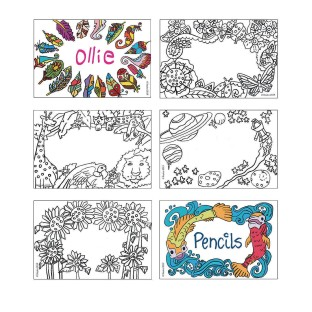 Color-In Labels - Image 1 of 1