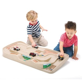 Carry and Go Track Table for Toy Cars, Trucks and Trains - Image 1 of 4