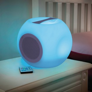 Luminous Lights Color Changing Portable Bluetooth Speaker - Image 1 of 3
