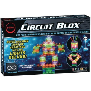 E-BLOX® Circuit Blox™ Lights Deluxe Building Bricks Set - Image 1 of 3
