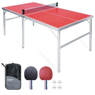 Portable Mid-Sized Table Tennis Table - Image 1 of 5