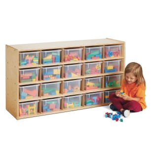 Jonti-Craft® Young Time™ 20-Cubbie Storage Unit - Image 1 of 3