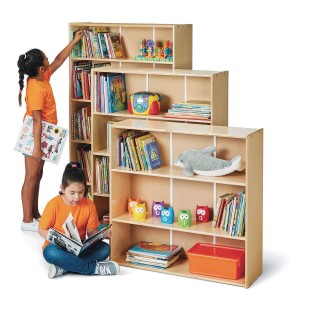 Jonti-Craft® Young Time™ Adjustable Shelf Bookcases - Image 1 of 5