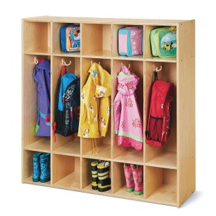 Jonti-Craft® Young Time™ 5-Section Coat Lockers - Image 1 of 2