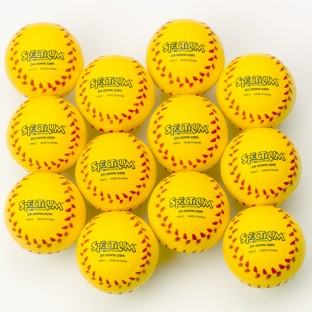 Spectrum™ Foam Baseballs (Pack of 12) - Image 1 of 2
