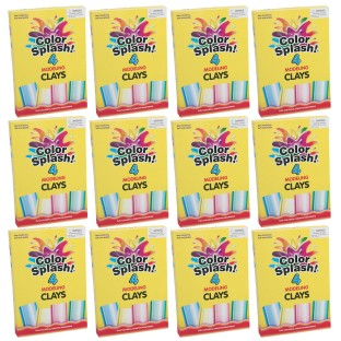 Color Splash!® Modeling Clay Sticks (Pack of 48) - Image 1 of 1