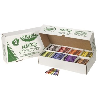 Crayola® Classpack® Crayons - Regular, 8 Colors (Box of 800) - Image 1 of 1
