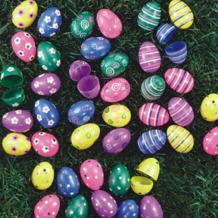 Fillable Plastic Easter Eggs (Pack of 70) - Image 1 of 1
