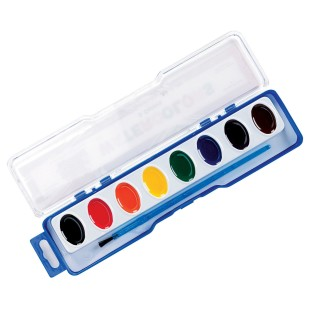 Color Splash!® Watercolor Paint Set, 8 Colors - Image 1 of 3