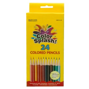Color Splash!® Colored Pencils (Box of 24) - Image 1 of 1