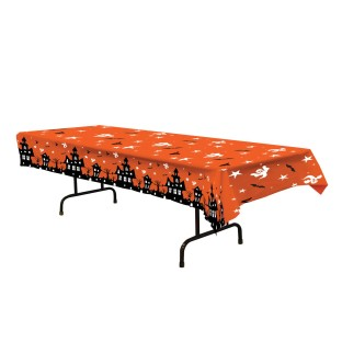 Haunted House Table Cover - Image 1 of 1