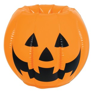 Inflatable Jack O' Lantern Cooler - Image 1 of 2