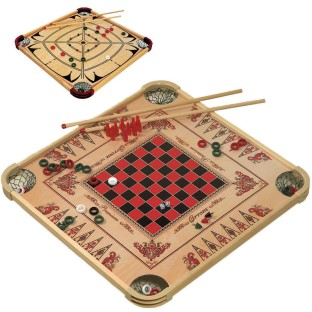 Carrom® Game Board - Image 1 of 3