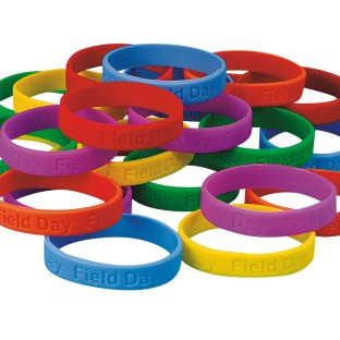 Field Day Silicone Bracelet (Pack of 24) - Image 1 of 3
